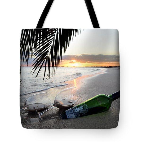 Lost In Paradise Tote Bag by Jon Neidert