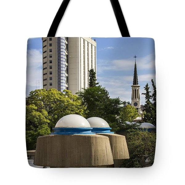 Strange Buenos Aires Architecture Tote Bag by For Ninety One Days