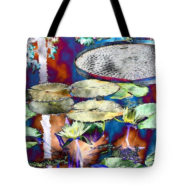 Strange Daze Tote Bag by Bobbie Barth