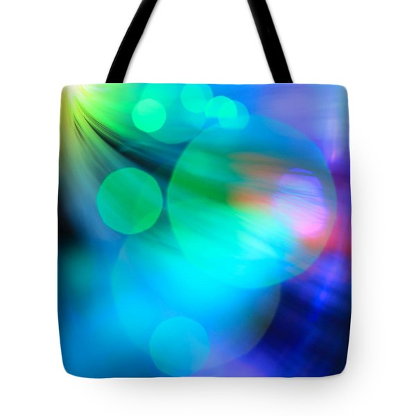 Strangers In The Night Tote Bag by Dazzle Zazz