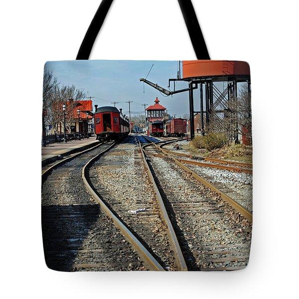 Strasburg Station Tote Bag by Skip Willits