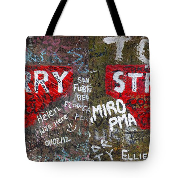 Strawberry Fields Forever Tote Bag by Semmick Photo