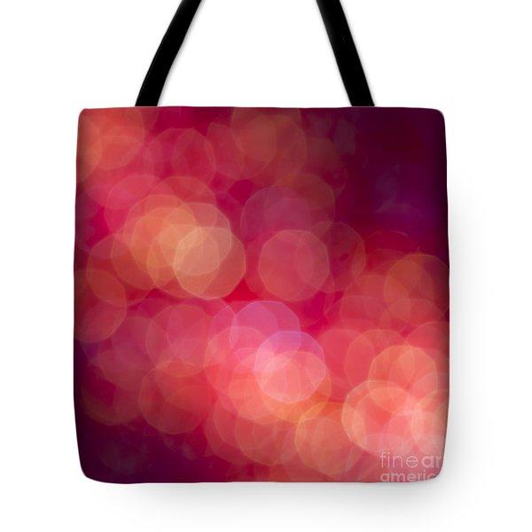 Strawberry Sherbet Tote Bag by Jan Bickerton