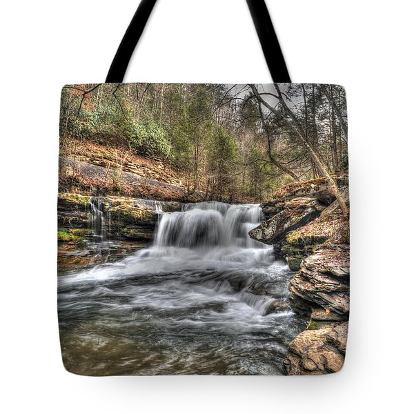 Stream Near Thurmond Wv Tote Bag by Dan Friend