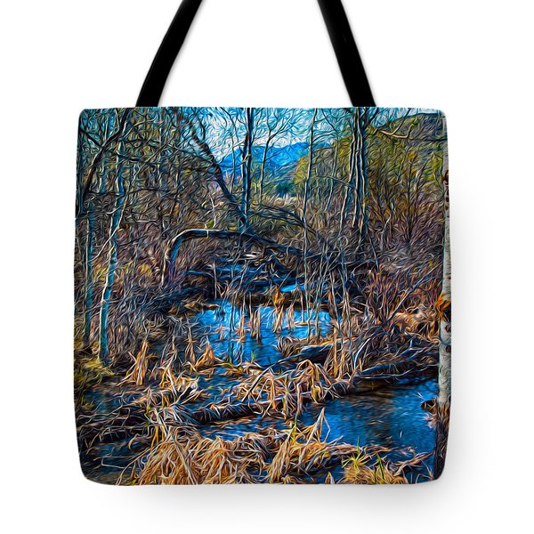 Streaming Beauty Tote Bag by Omaste Witkowski