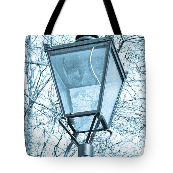 Street lamp Tote Bag by Tom Gowanlock