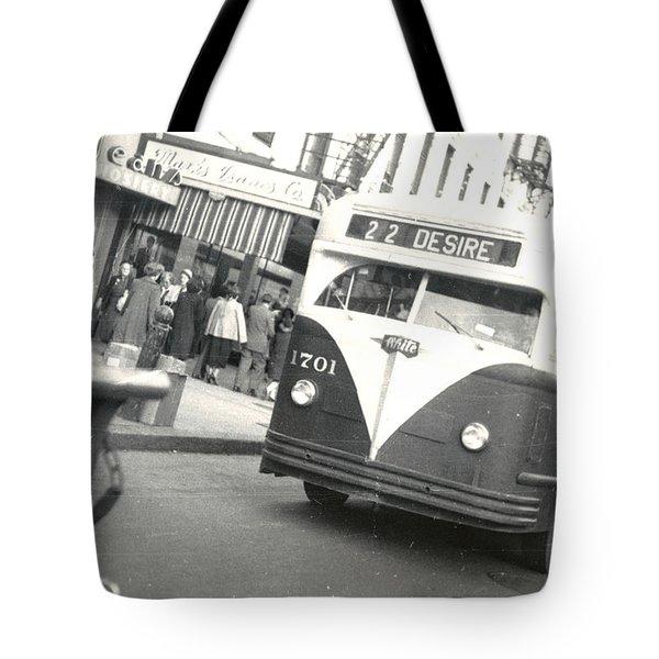 Streetcar Named Desire Tote Bag by Cynthia Decker