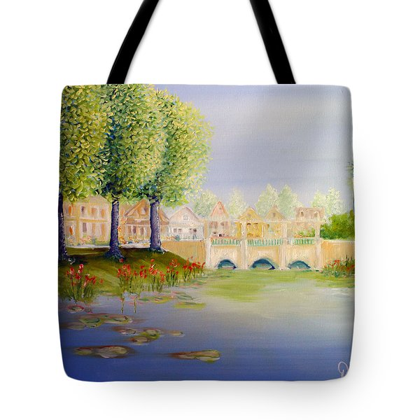 Streets Of Celebration Tote Bag by David Kacey