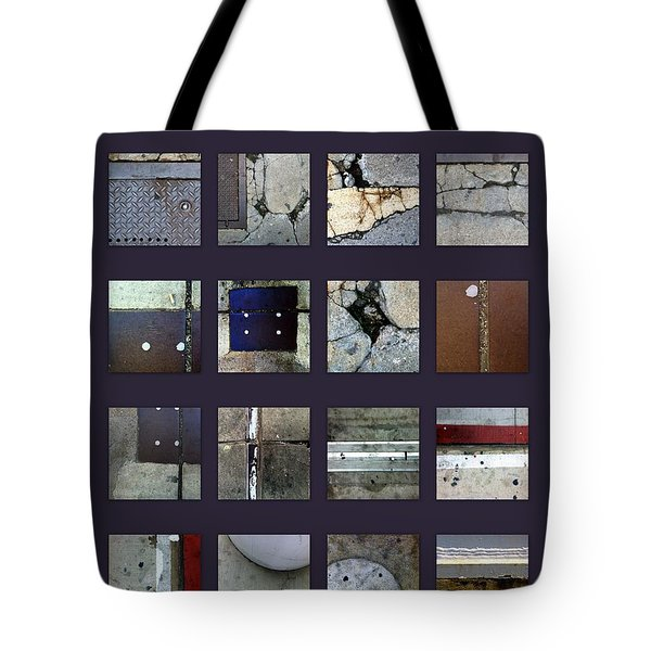 Streets Of New York Poster Tote Bag by Marlene Burns
