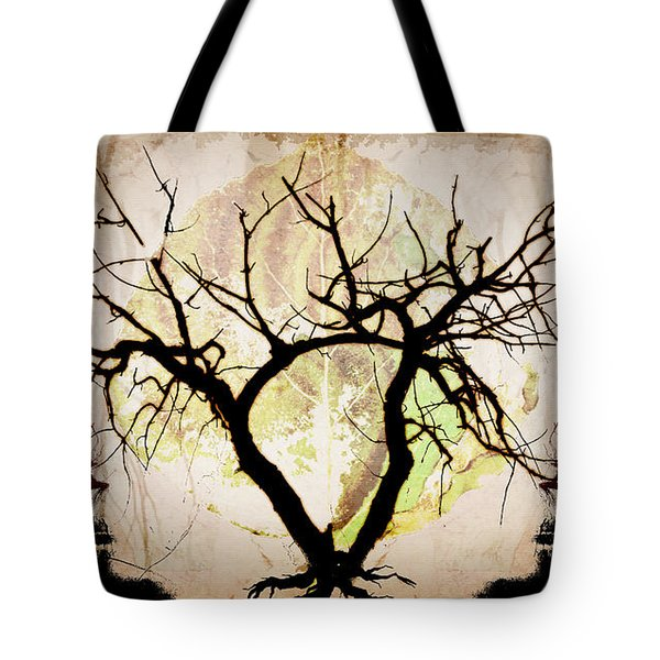 Stretching Tote Bag by Brett Pfister