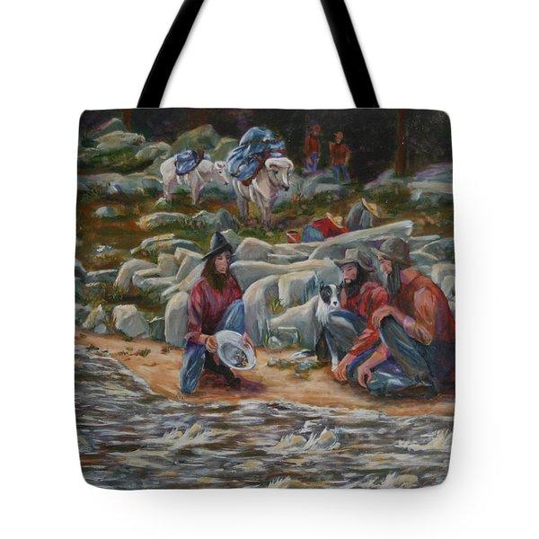 Strike It Rich Tote Bag by Gail Daley