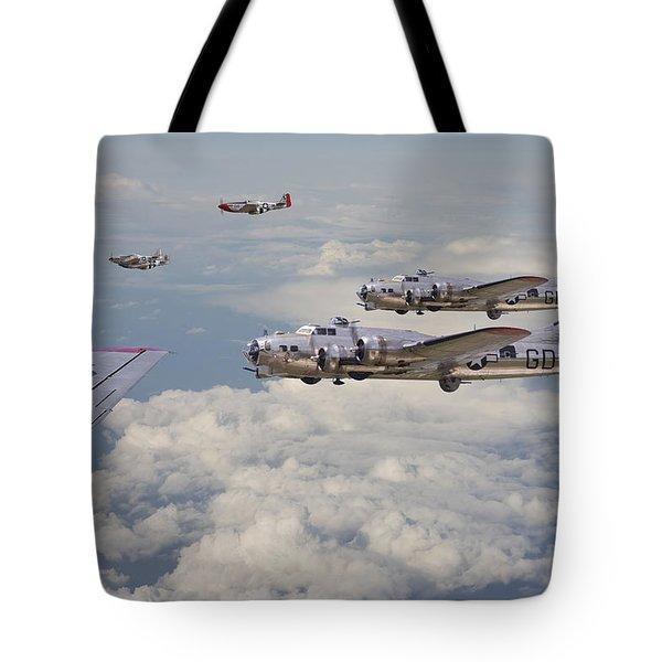 Strike Package Tote Bag by Pat Speirs