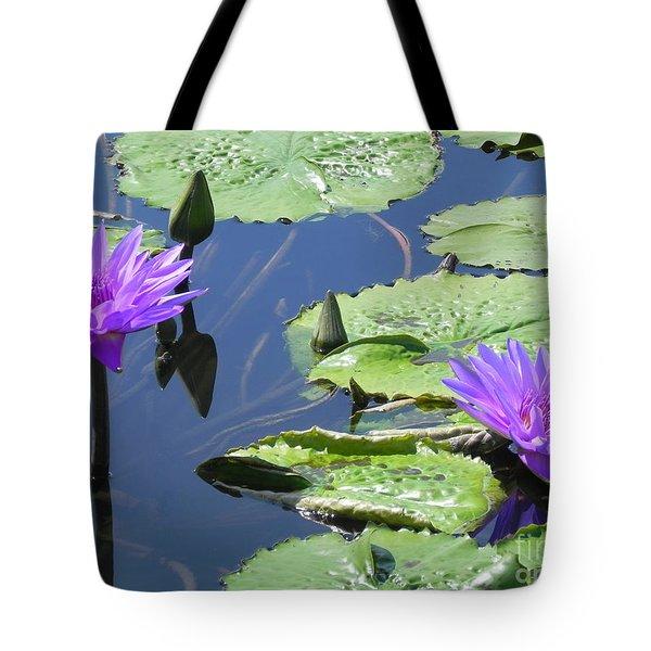 Striking Silhouettes Tote Bag by Chrisann Ellis