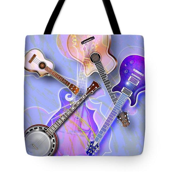 Stringed Instruments Tote Bag by Design Pics Eye Traveller