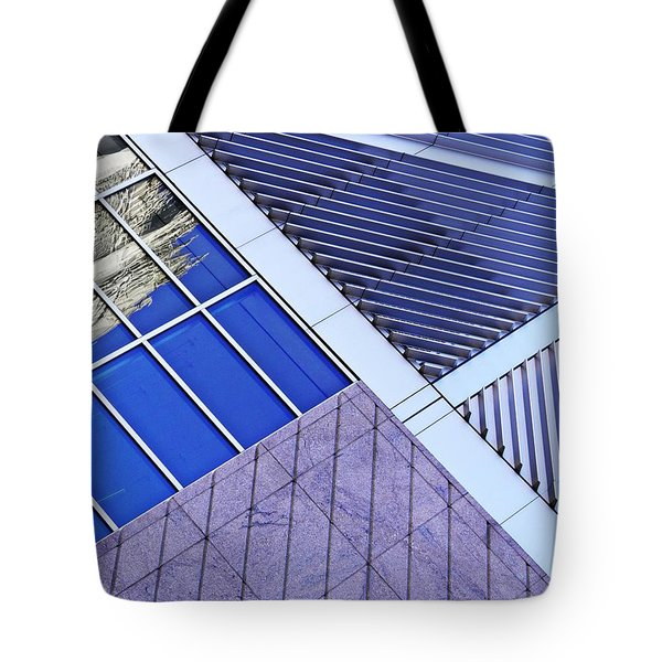 Structural Abstract 7 Tote Bag by Sarah Loft