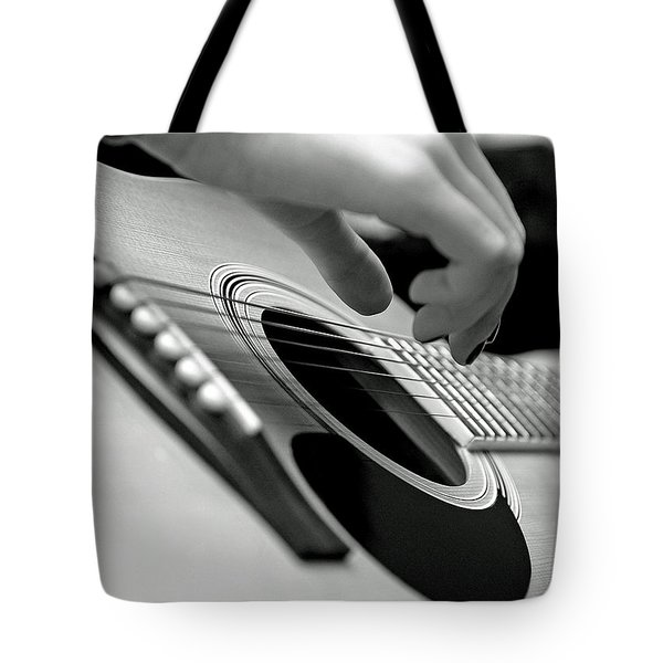 Strum Tote Bag by Lisa Phillips