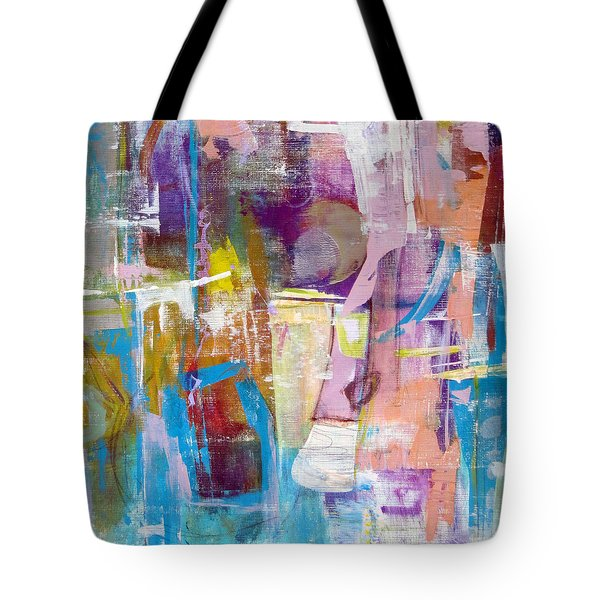 Subjective Tote Bag by Katie Black