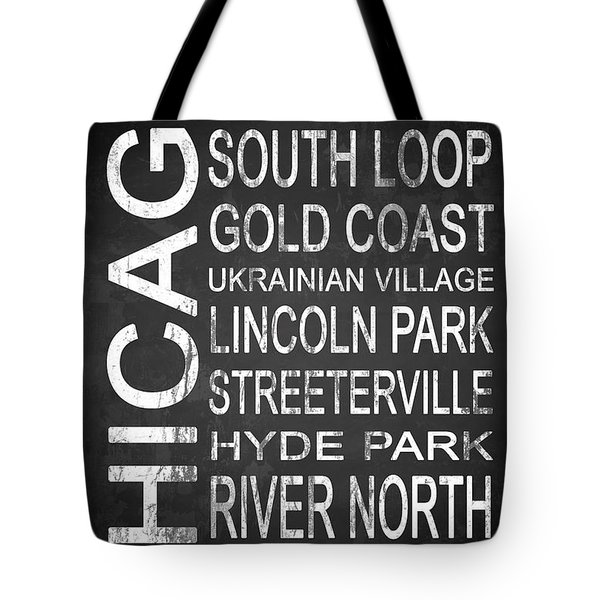 Subway Chicago 2 Tote Bag by Melissa Smith