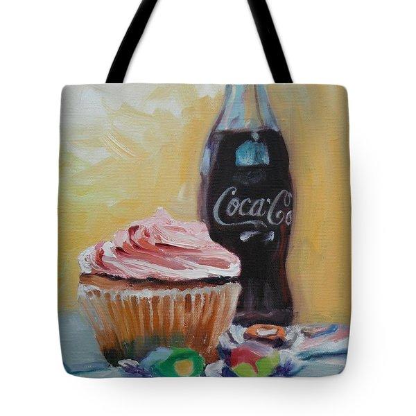 Sugar Overload Tote Bag by Donna Tuten