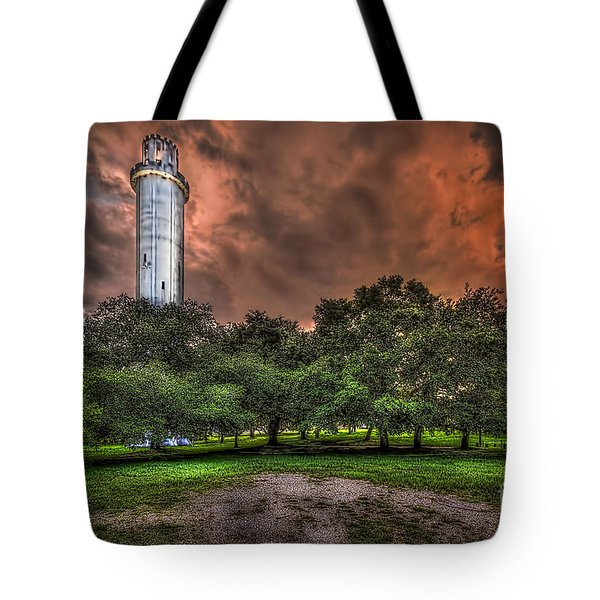 Sulfur Springs Tower Tote Bag by Marvin Spates