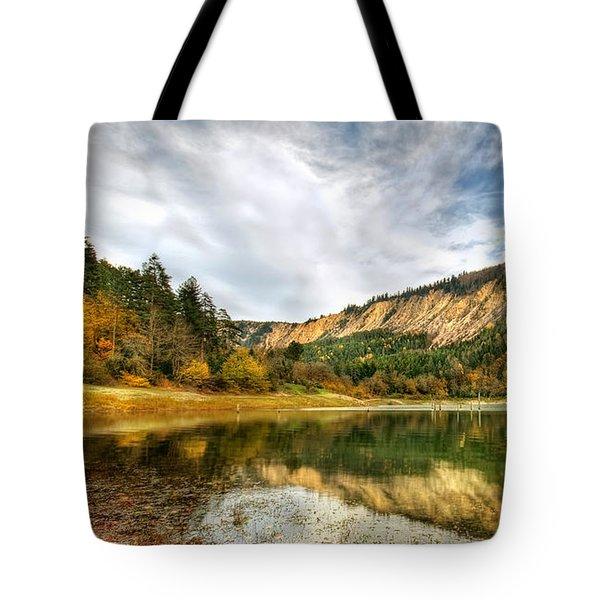 Suluklu Lake Tote Bag by Leyla Ismet