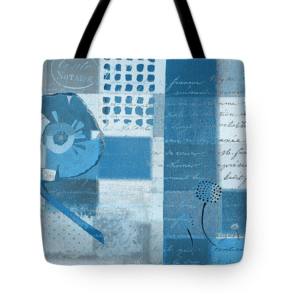 Summer 2014 - J088097112-blueall Tote Bag by Variance Collections