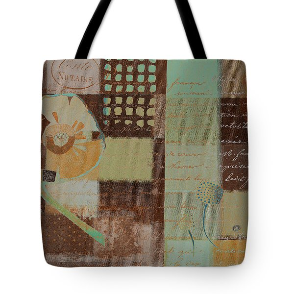Summer 2014 - J088097112-brown01 Tote Bag by Variance Collections