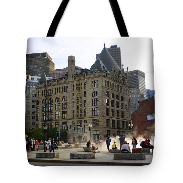 Summer Afternoon In Boston Tote Bag by Dora Sofia Caputo Photographic Art and Design