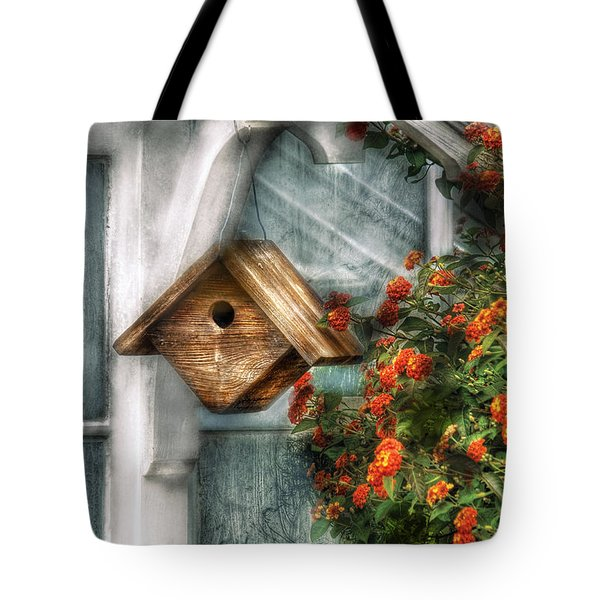 Summer - Birdhouse - The Birdhouse Tote Bag by Mike Savad