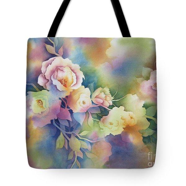 Summer Blooms Tote Bag by Deborah Ronglien