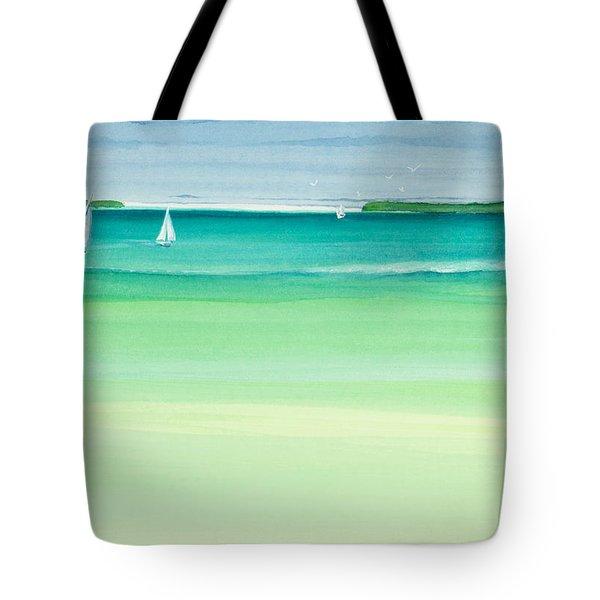 Summer Breeze Tote Bag by Michelle Wiarda