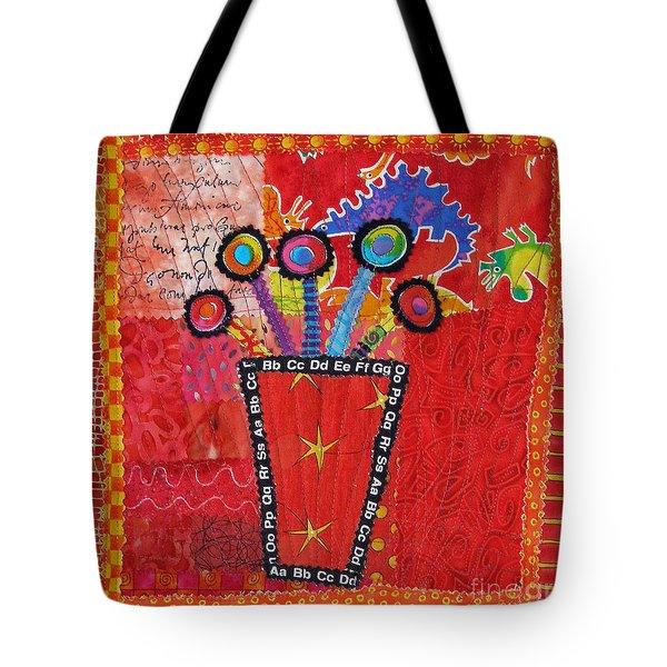 Summer Dance Tote Bag by Susan Rienzo