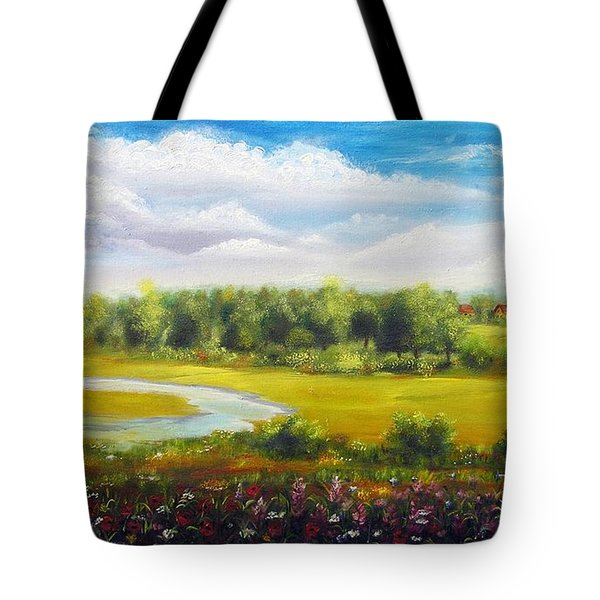 Summer Day Tote Bag by Vesna Martinjak