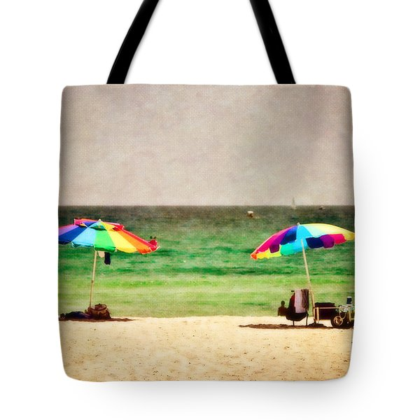 Summer Days at the Beach Tote Bag by Scott Pellegrin