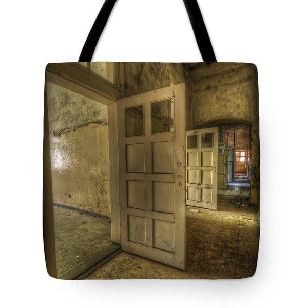 Summer Doors Tote Bag by Nathan Wright