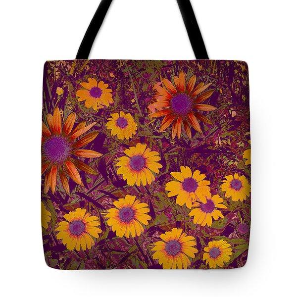 Summer Garden Tote Bag by Ann Powell