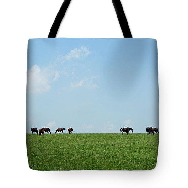 Summer Grazing Tote Bag by Roger Potts
