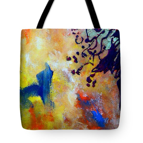 Summer Heat Tote Bag by Beverly  Koski