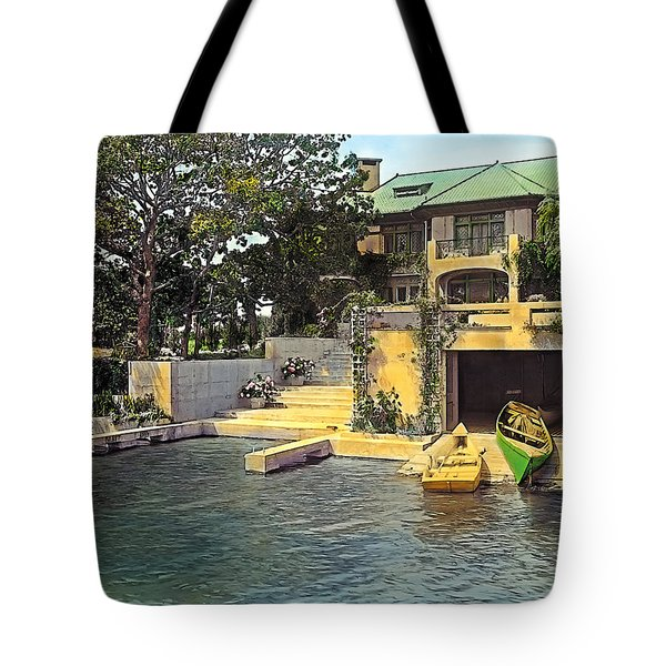 Summer Home Tote Bag by Terry Reynoldson