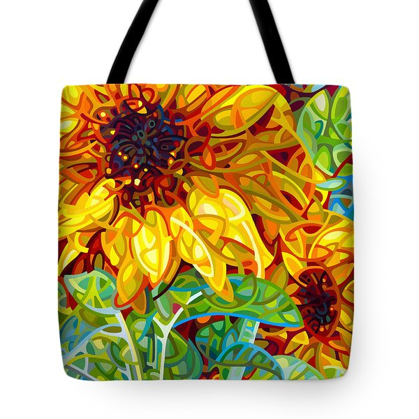 Summer In The Garden Tote Bag by Mandy Budan