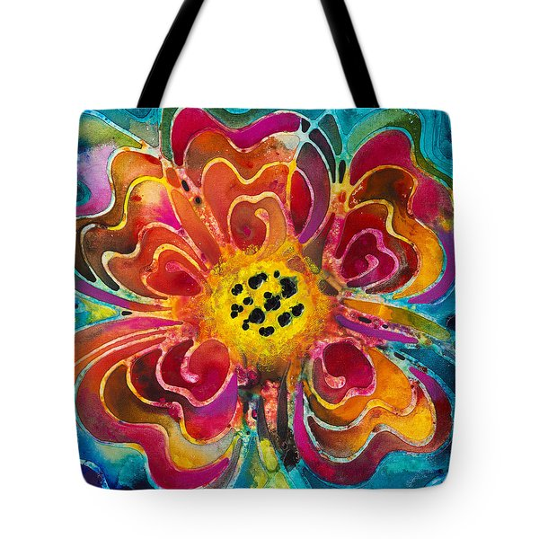 Summer Love Tote Bag by Sharon Cummings