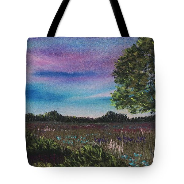 Summer Meadow Tote Bag by Anastasiya Malakhova