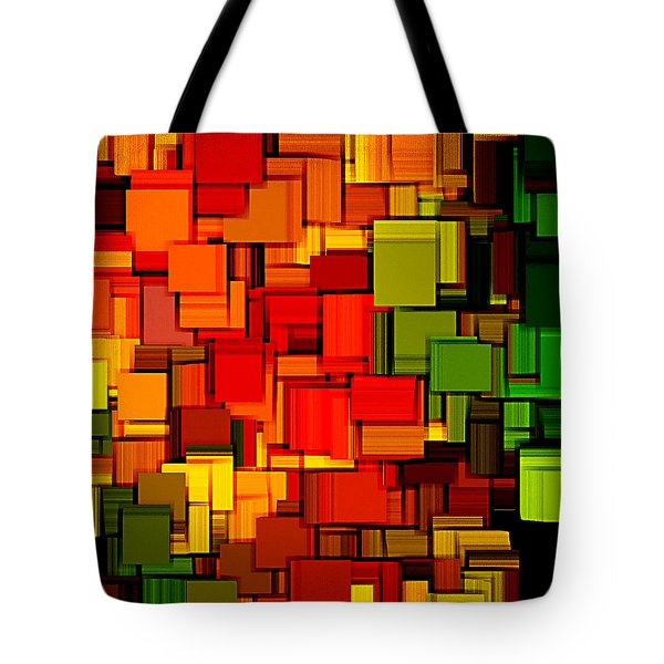 Summer Modern Abstract Art XVIII Tote Bag by Lourry Legarde