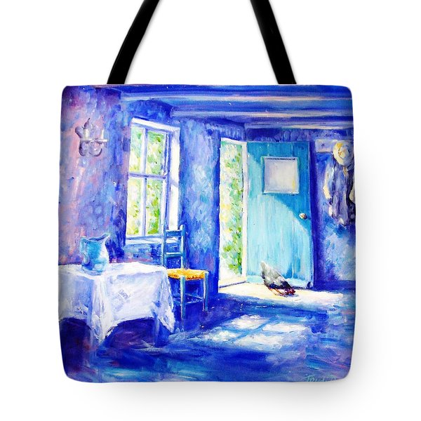 Summer Morning Tote Bag by Trudi Doyle