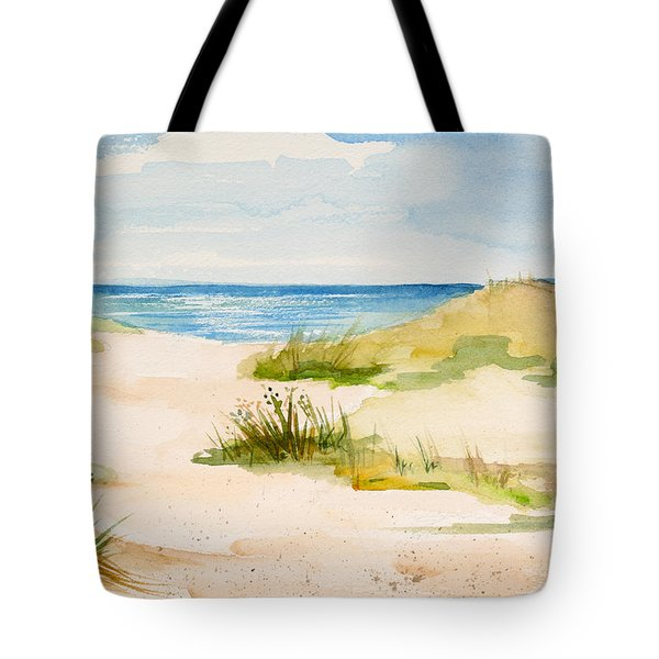 Summer On Cape Cod Tote Bag by Michelle Wiarda