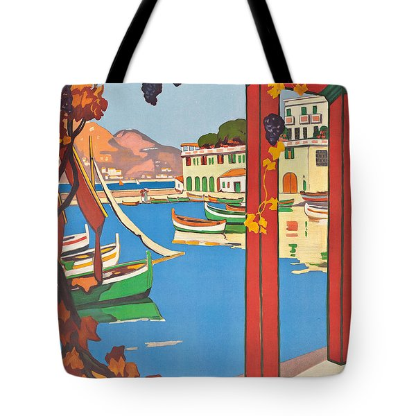 Summer On The Cote D Azur Tote Bag by Guillaume Georges Roger