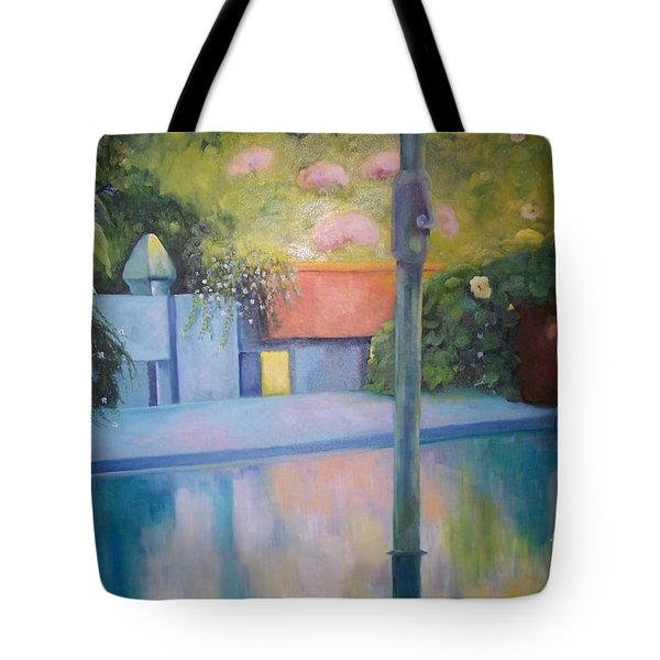 Summer On The Deck Tote Bag by Marlene Book