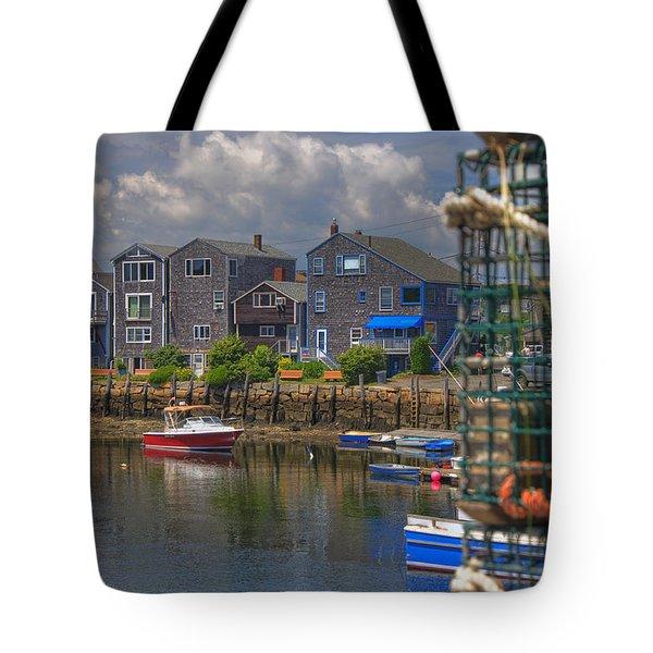 Summer On The Harbor Tote Bag by Joann Vitali