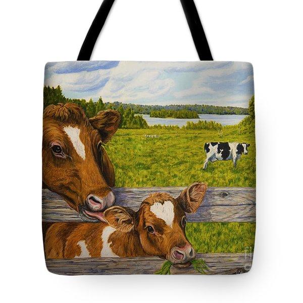 Summer Pasture Tote Bag by Veikko Suikkanen