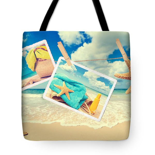 Summer Postcards Tote Bag by Amanda And Christopher Elwell